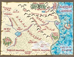 Northern Lasniniar map
