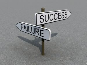 [Sign:Success & Failure by cobrasoft]
